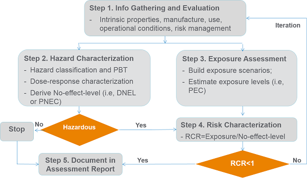 Overview chemical risk assessment