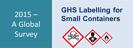 GHS label small package